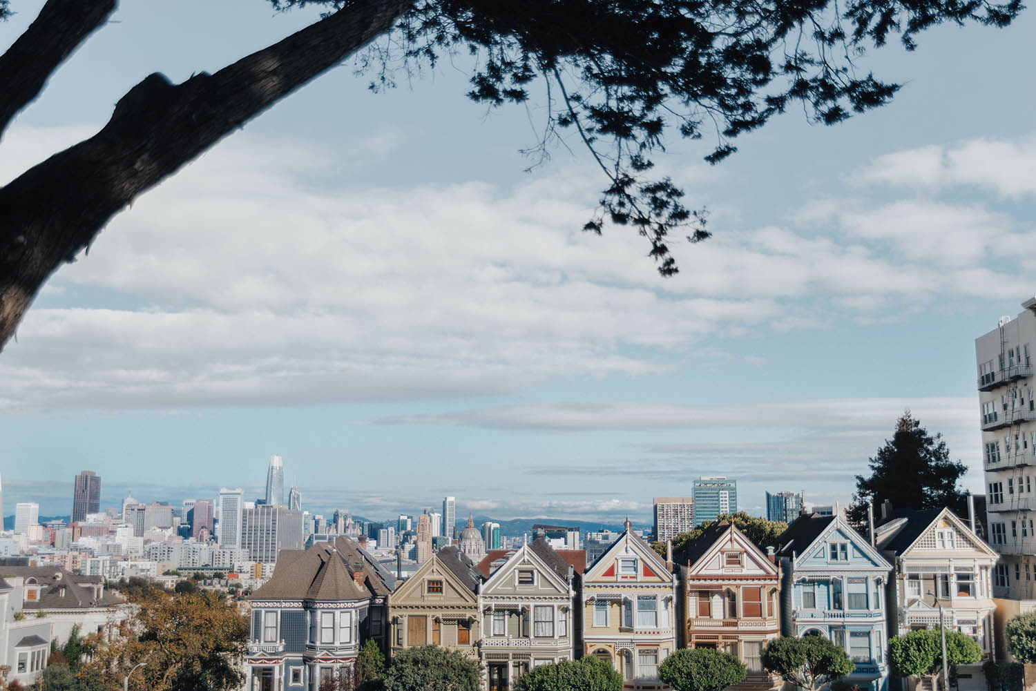 Painted Ladies - Instagramvänliga platser i San Francisco