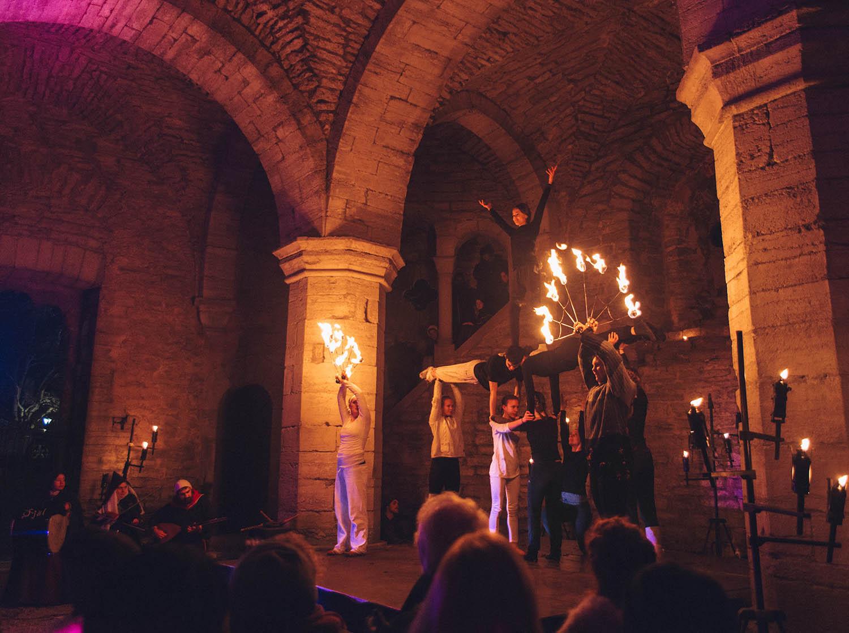 Pax - Eldshow - Medeltida Jul i Visby