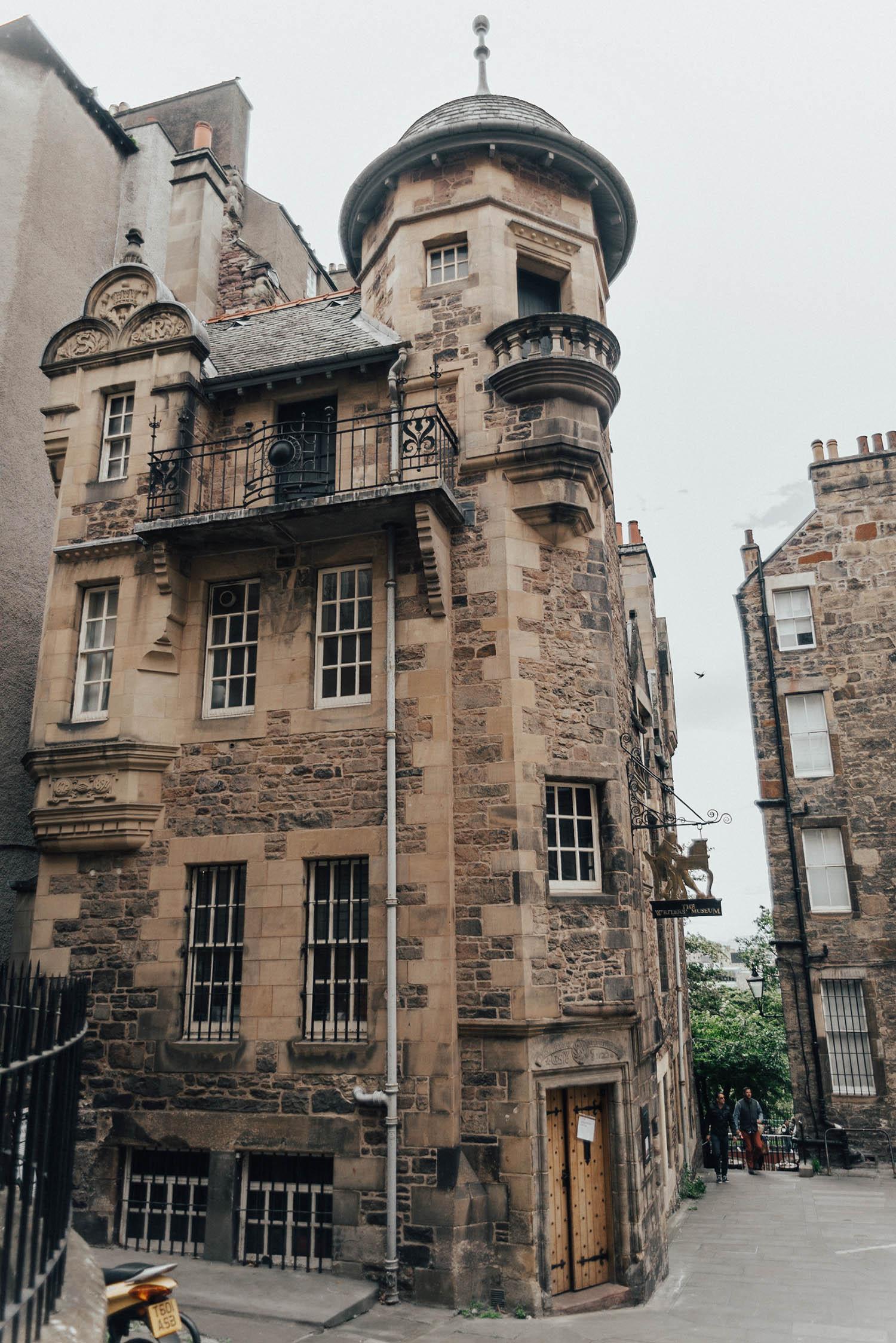 The Writer's Museum in Edinburgh