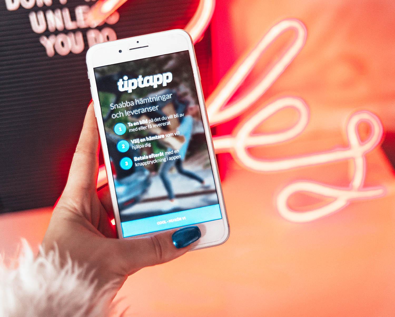 TipTapp - Smart App för att tiptappa bort allt du inte behöver