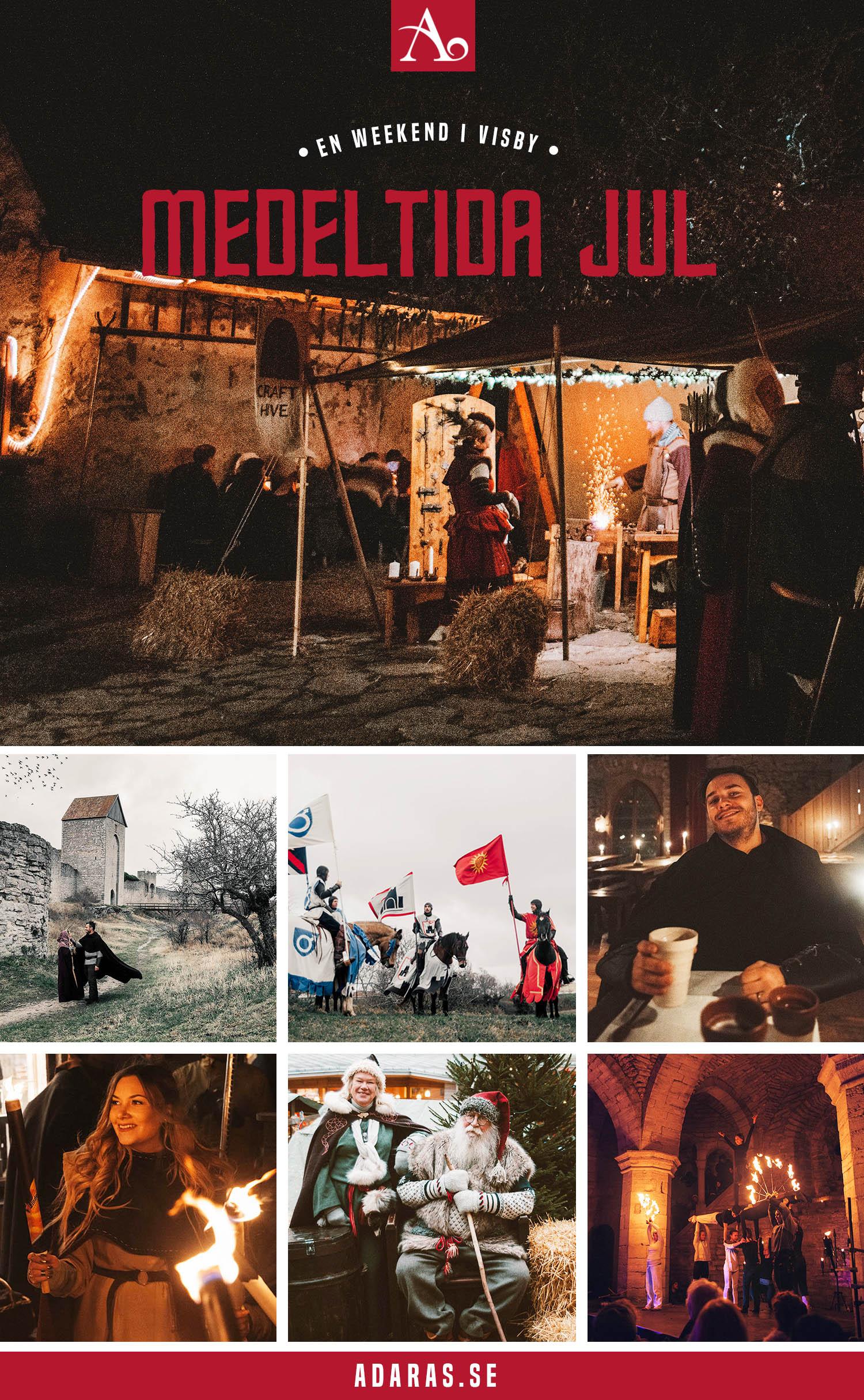 Medeltida Jul: Bilder från årets mysigaste helg i Visby