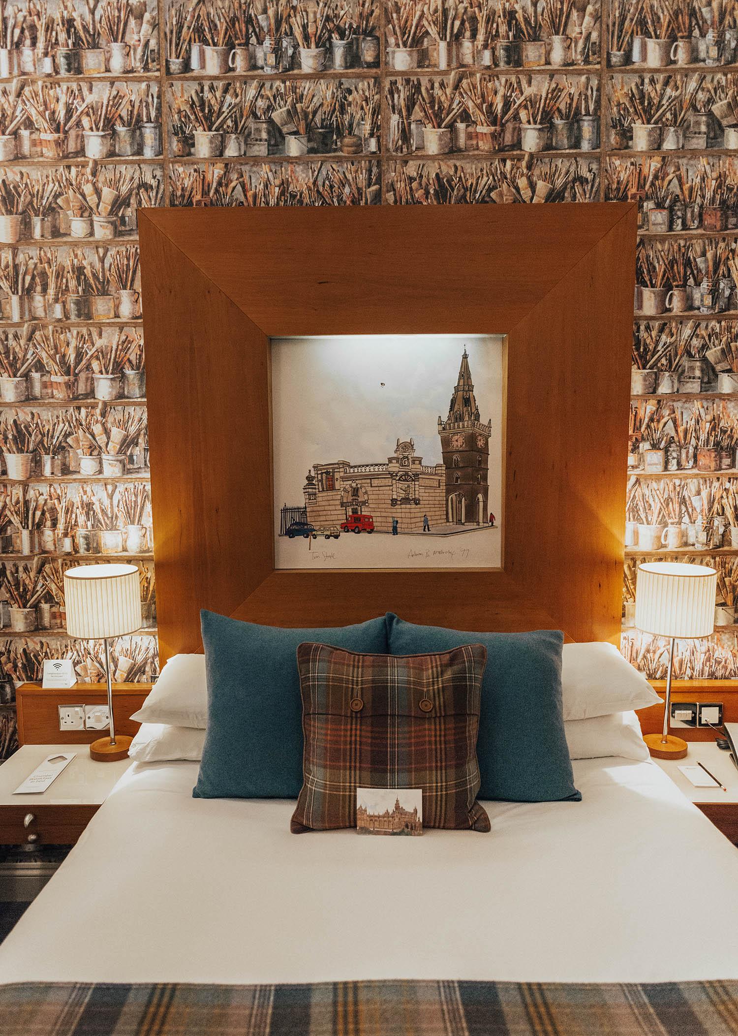 Cozy Hotel Room at Abode Hotel, Glasgow, Scotland