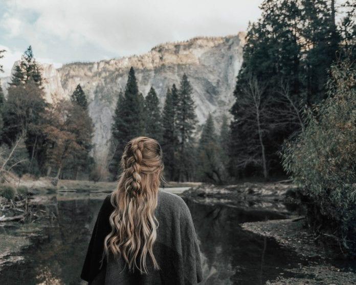 Adaras - Utbakad fläta i Yosemite National Park