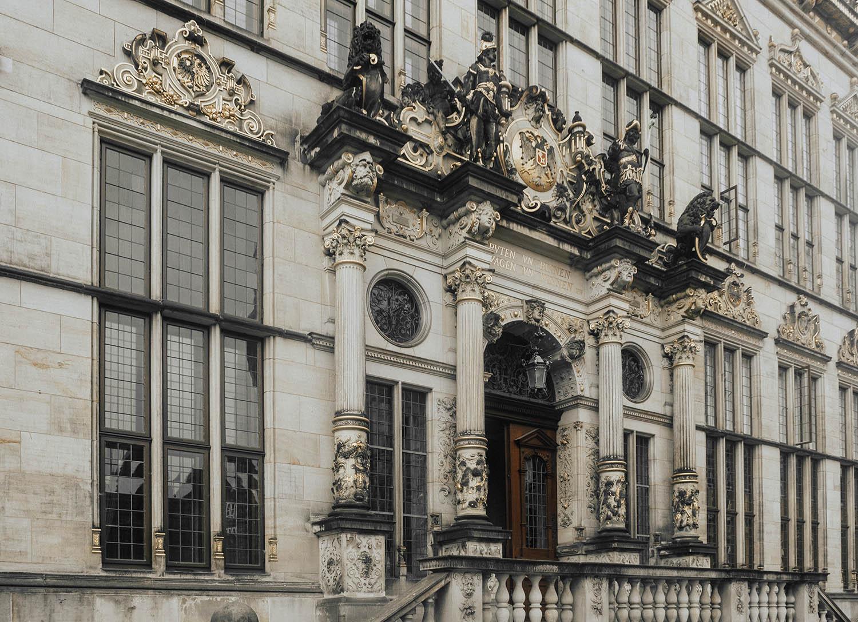 Beautiful Building in Bremen, Germany