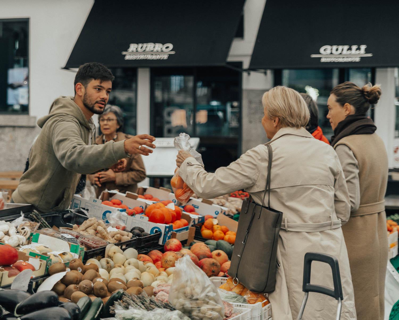 Mercado da Vila de Cascais, Portugal