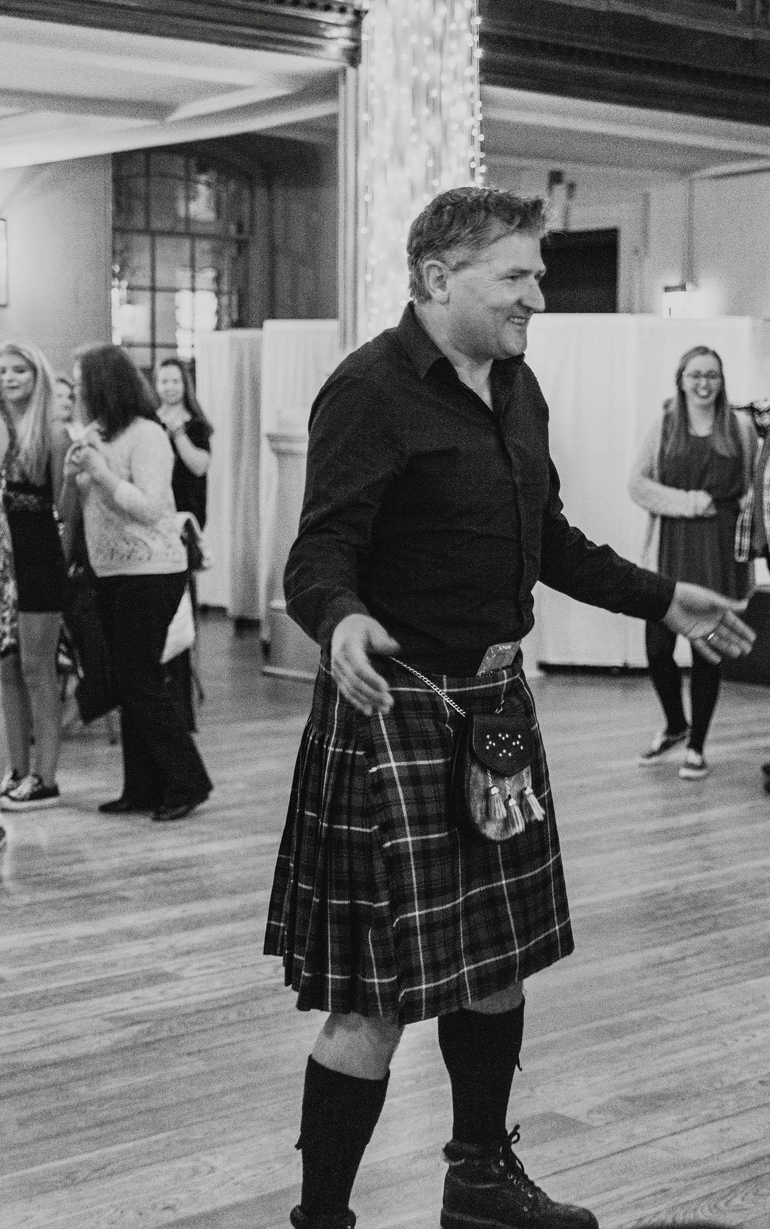 Kilt Outfit, Glasgow, Scotland