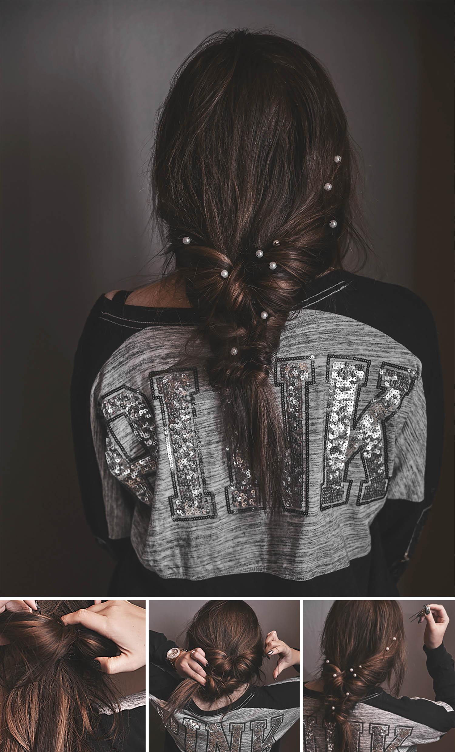 Adaras enkla och snygga frisyrer: Slarvigchic festfrisyr