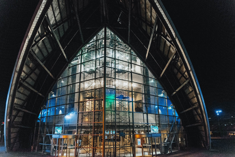 Armadillo Entrance in Glasgow