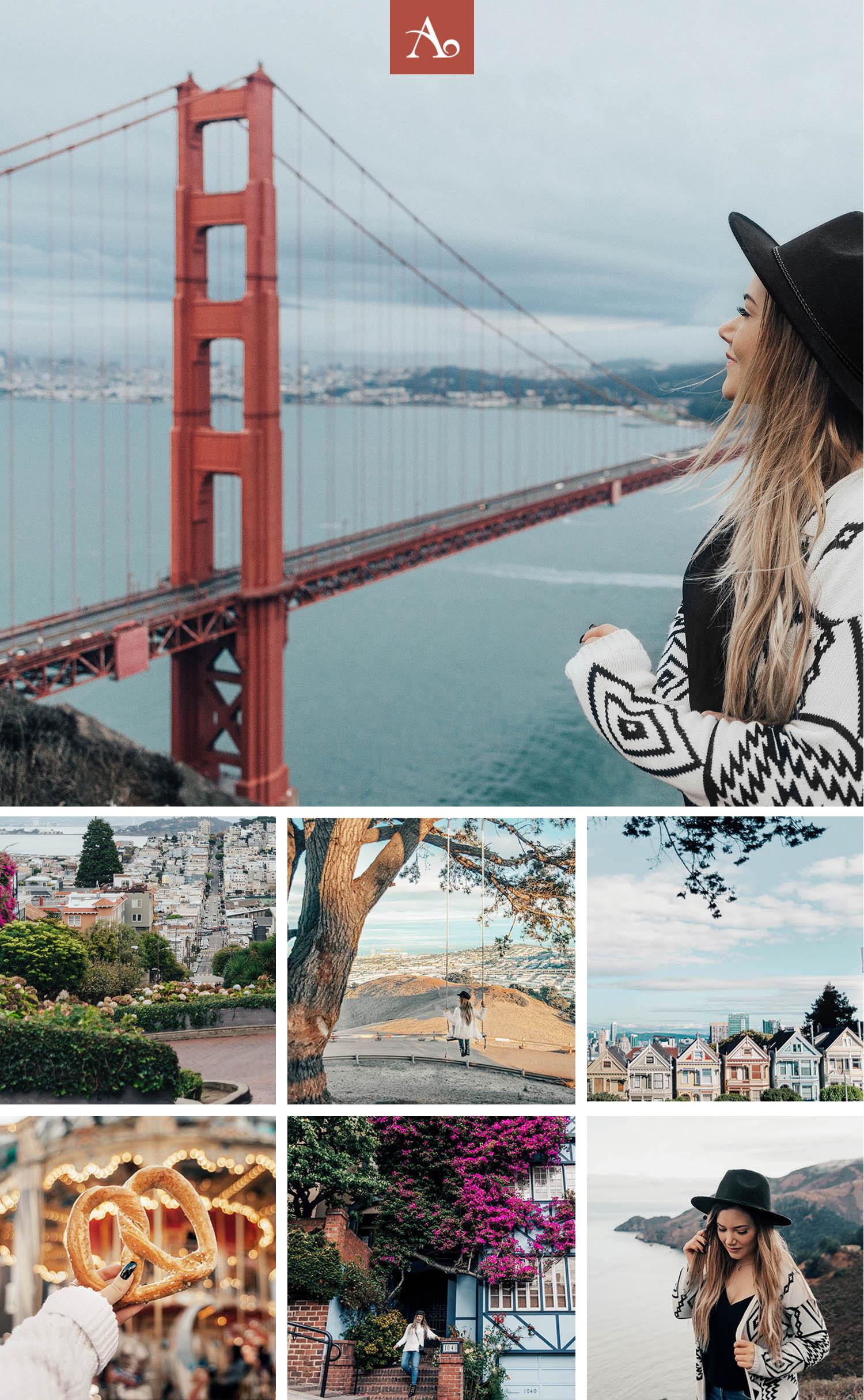 Instagramvänliga platser i San Francisco