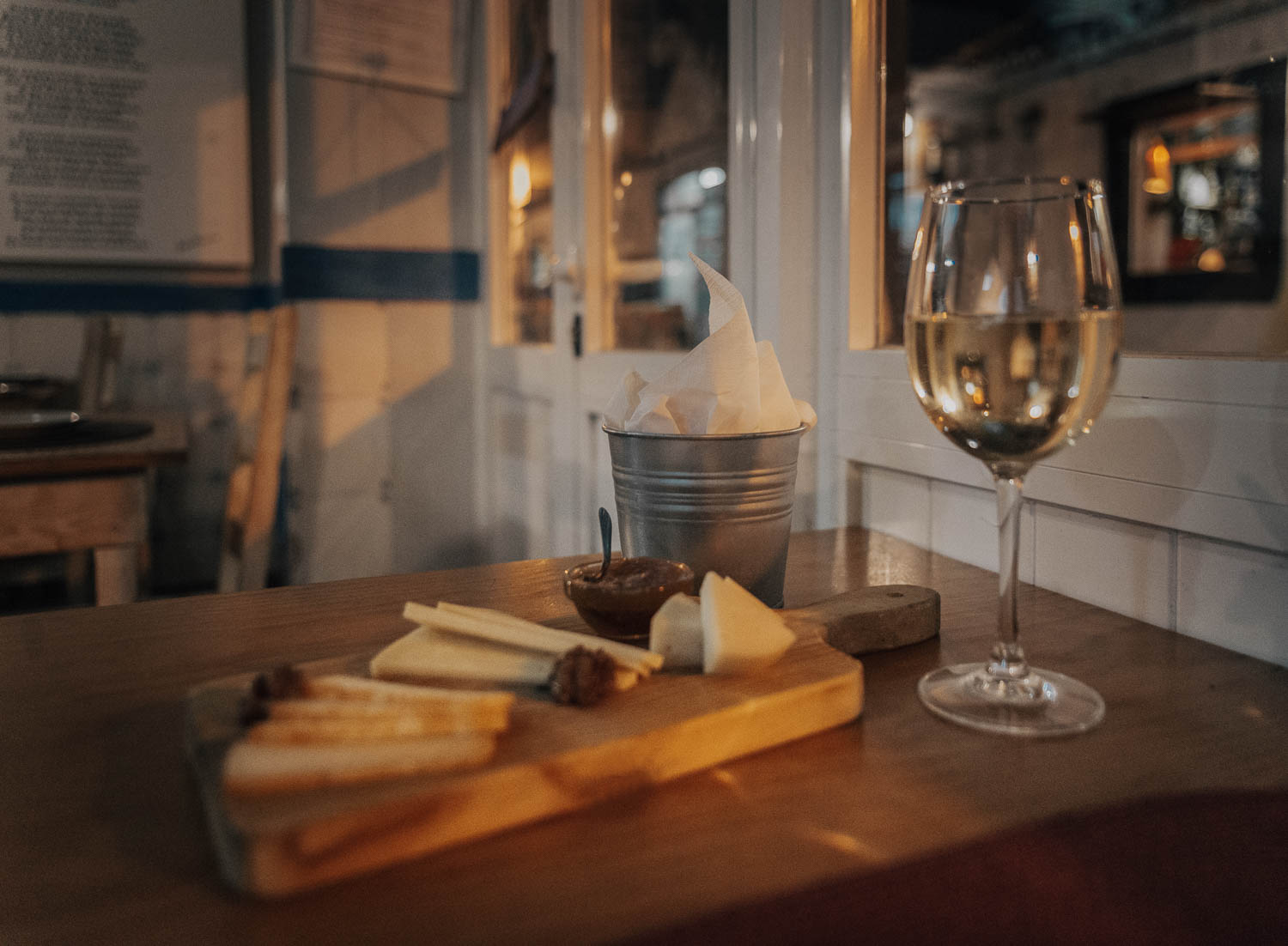 Wine & Cheese at Polvo Vadio