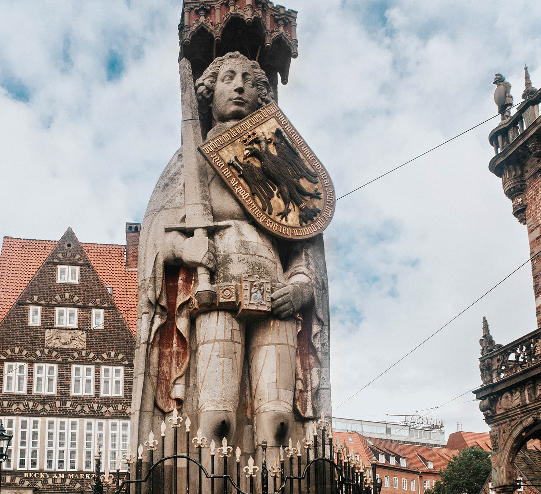 Roland Statue in Bremen