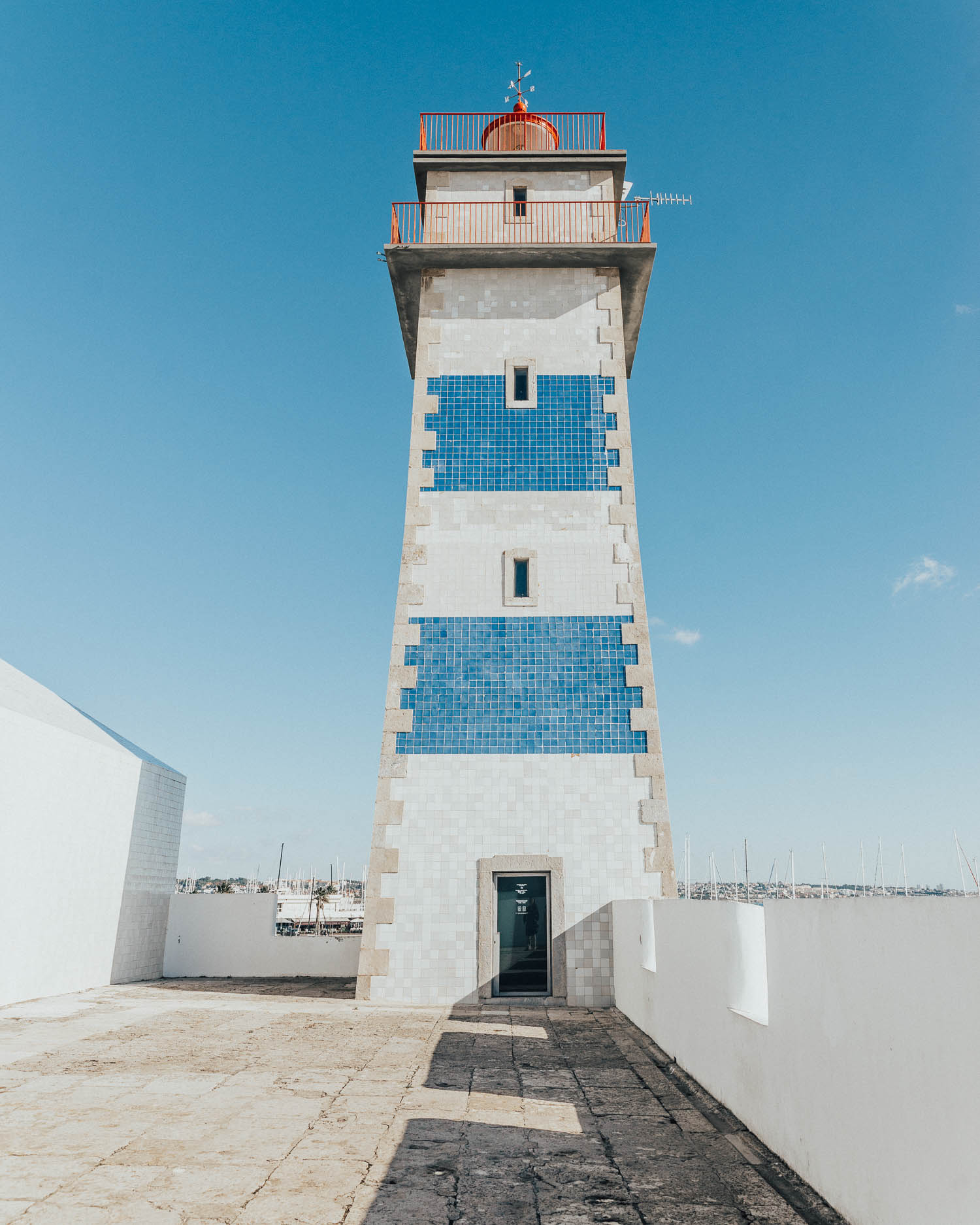 Santa Marta Lighthouse Museum in Cascais