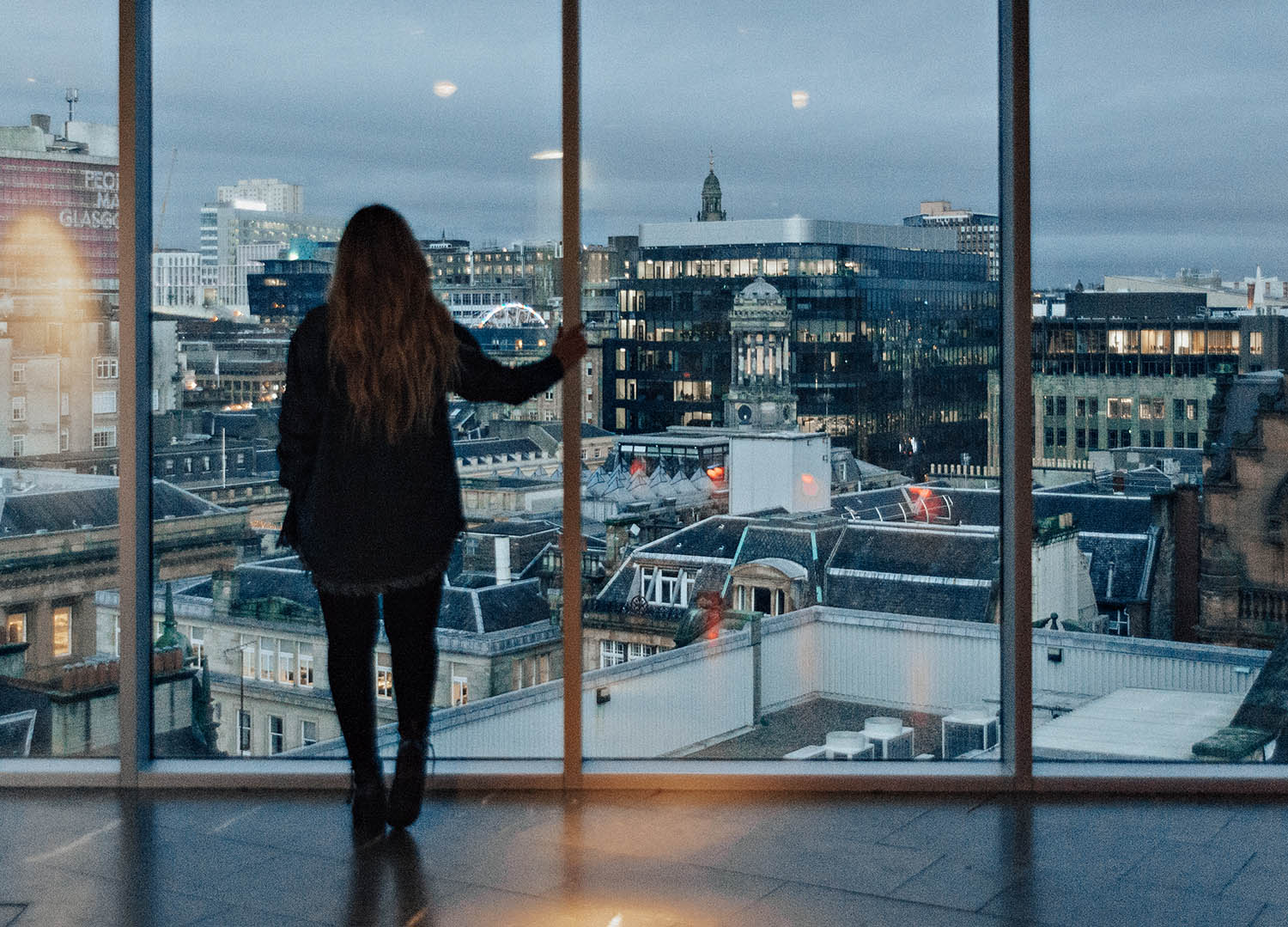 View from The Lighthouse in Glasgow