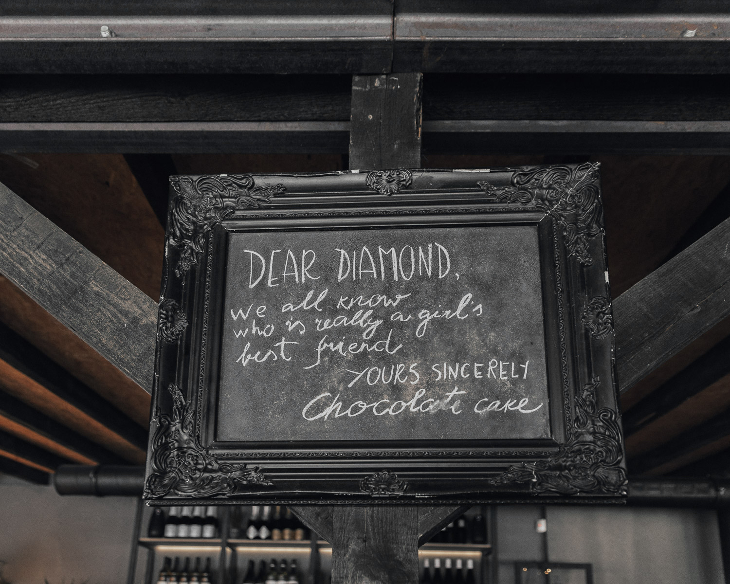 Dear Diamond Quote