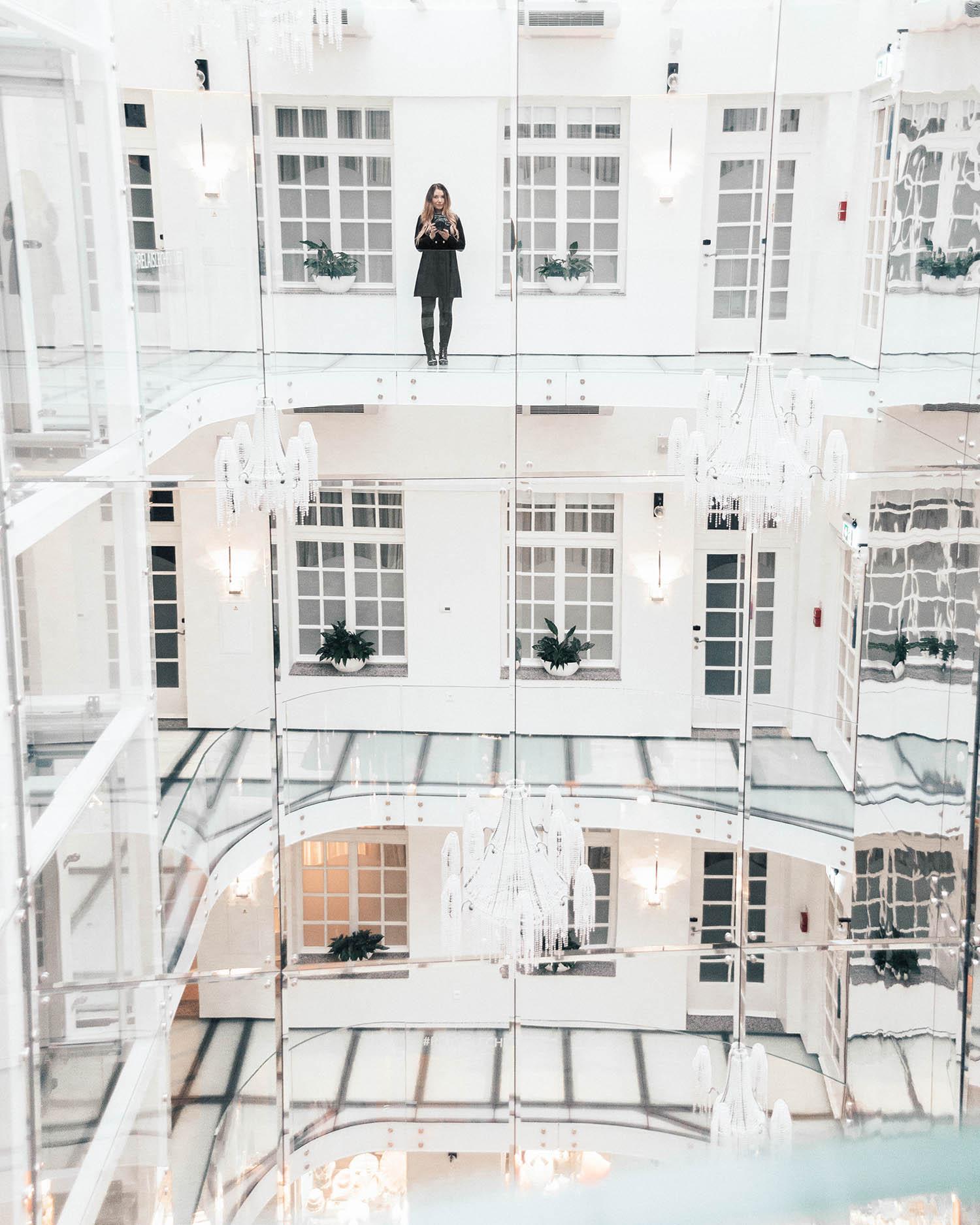 ADARAS in the beautiful Hotel Le Chevalier Relais in Riga, Latvia