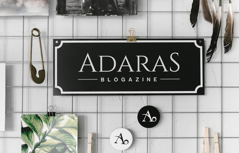 Egendesignad aluminiumskylt från Skyltmax - ADARAS Blogazine