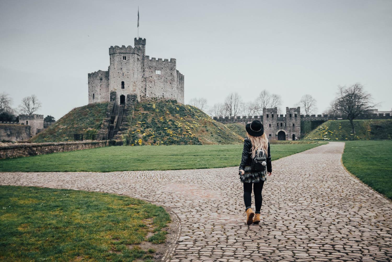 Adaras by Cardiff Castle, Wales