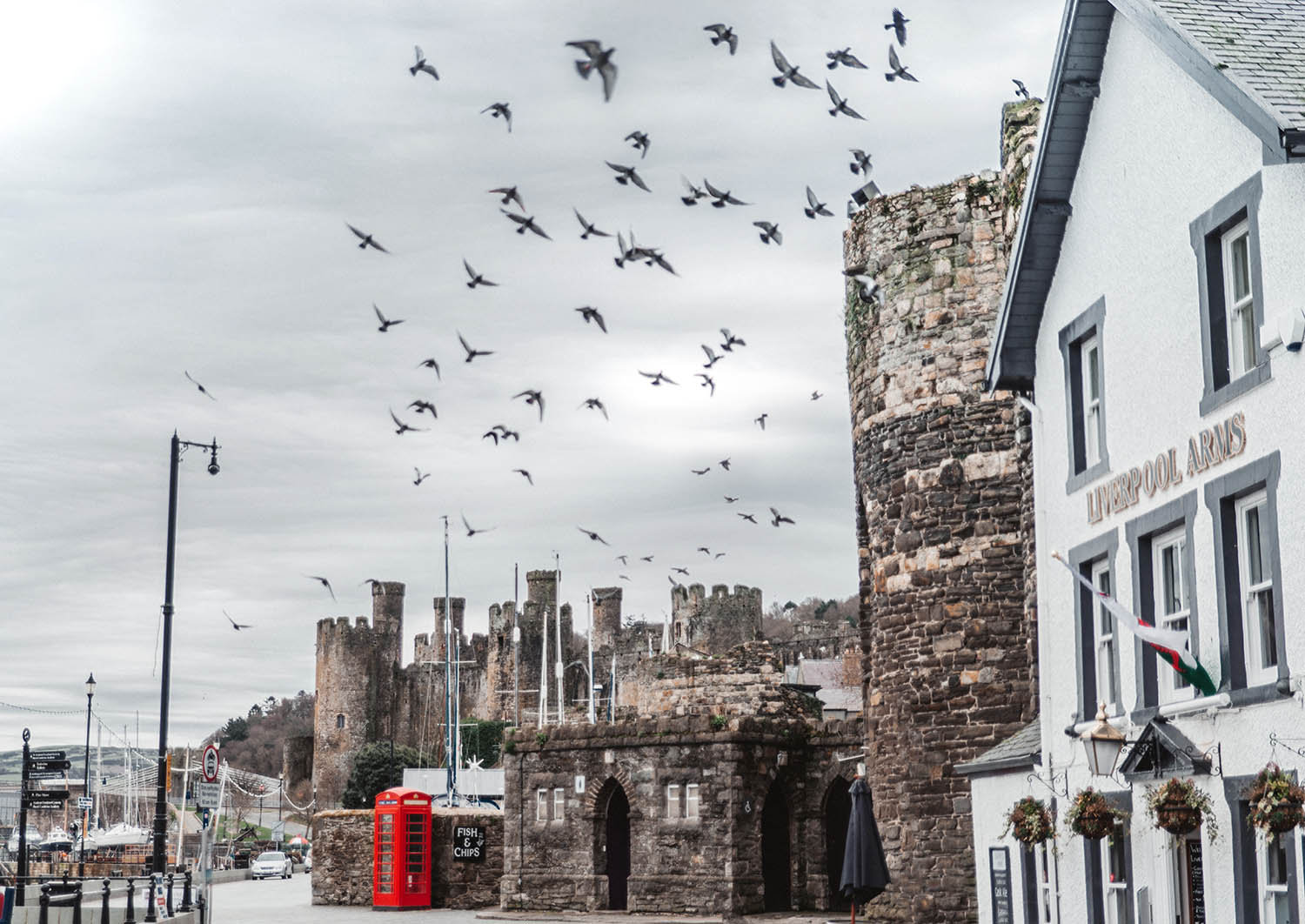 Conwy Castle, Wales - Top Places to Visit in Great Britain