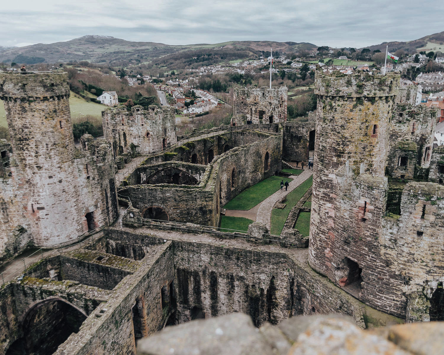 Conwy Castle, Wales - Best places to visit in UK
