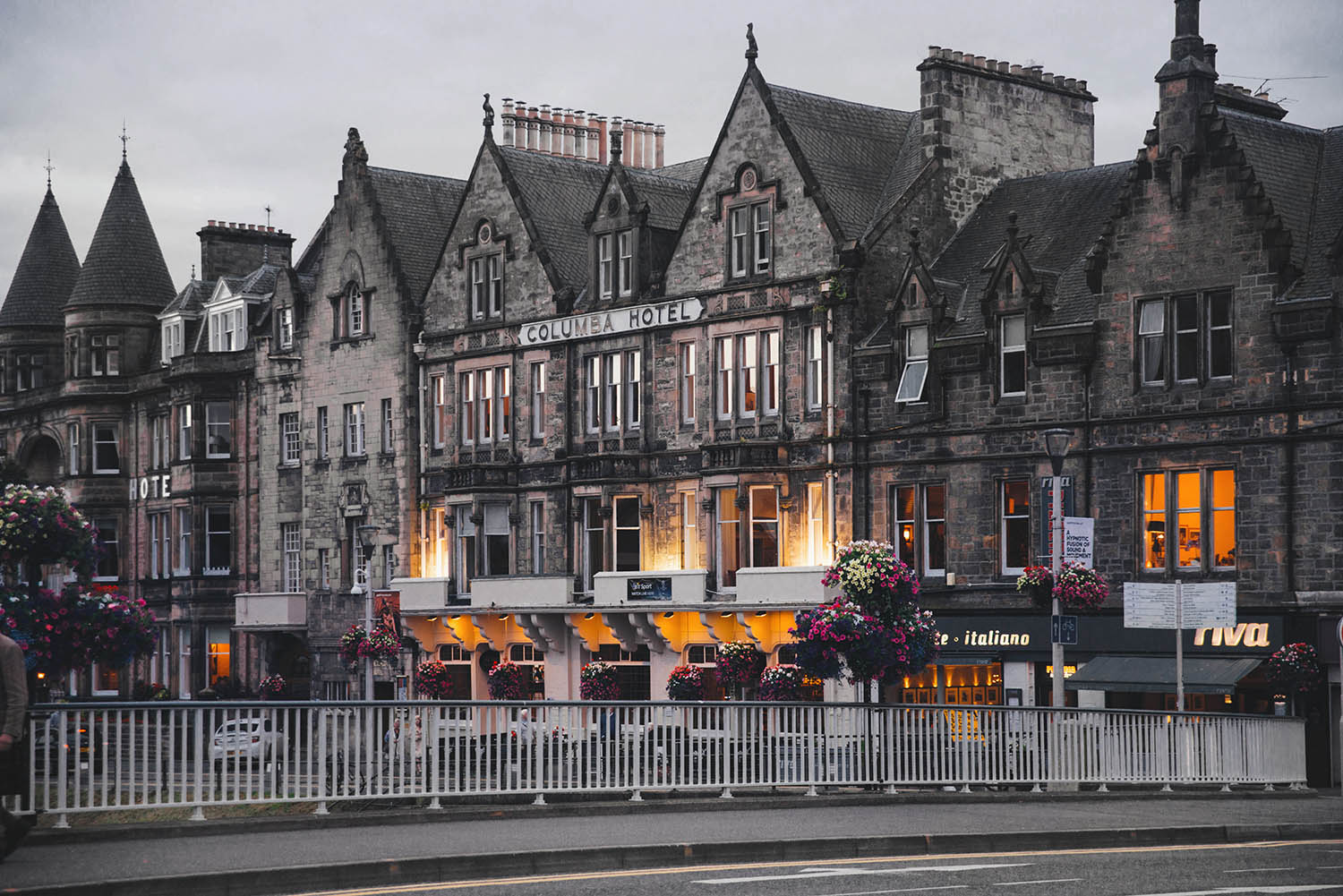Inverness, Scotland - Columbia Hotel