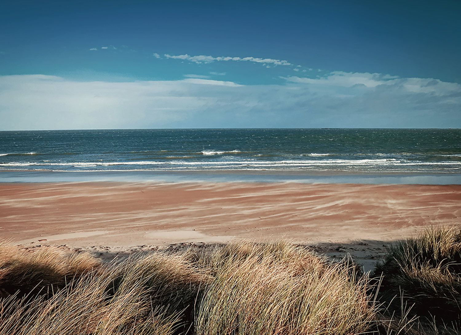 Beach, Northumberland, England, UK