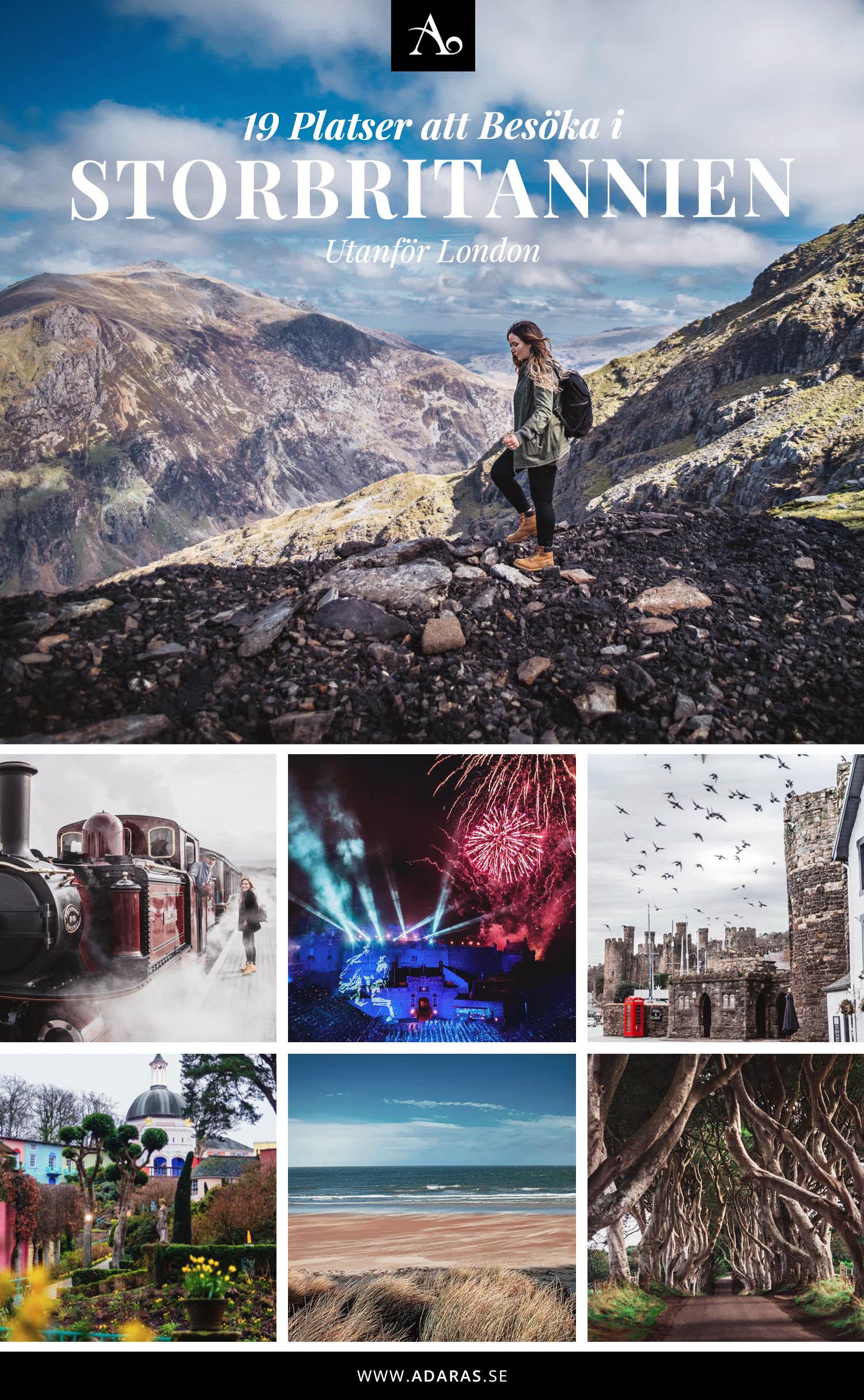 ADARAS Topp 19 Platser att besöka i Storbritannien