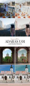 ADARAS U01 Lightroom Presets Pack - Travel & Lifestyle Presets