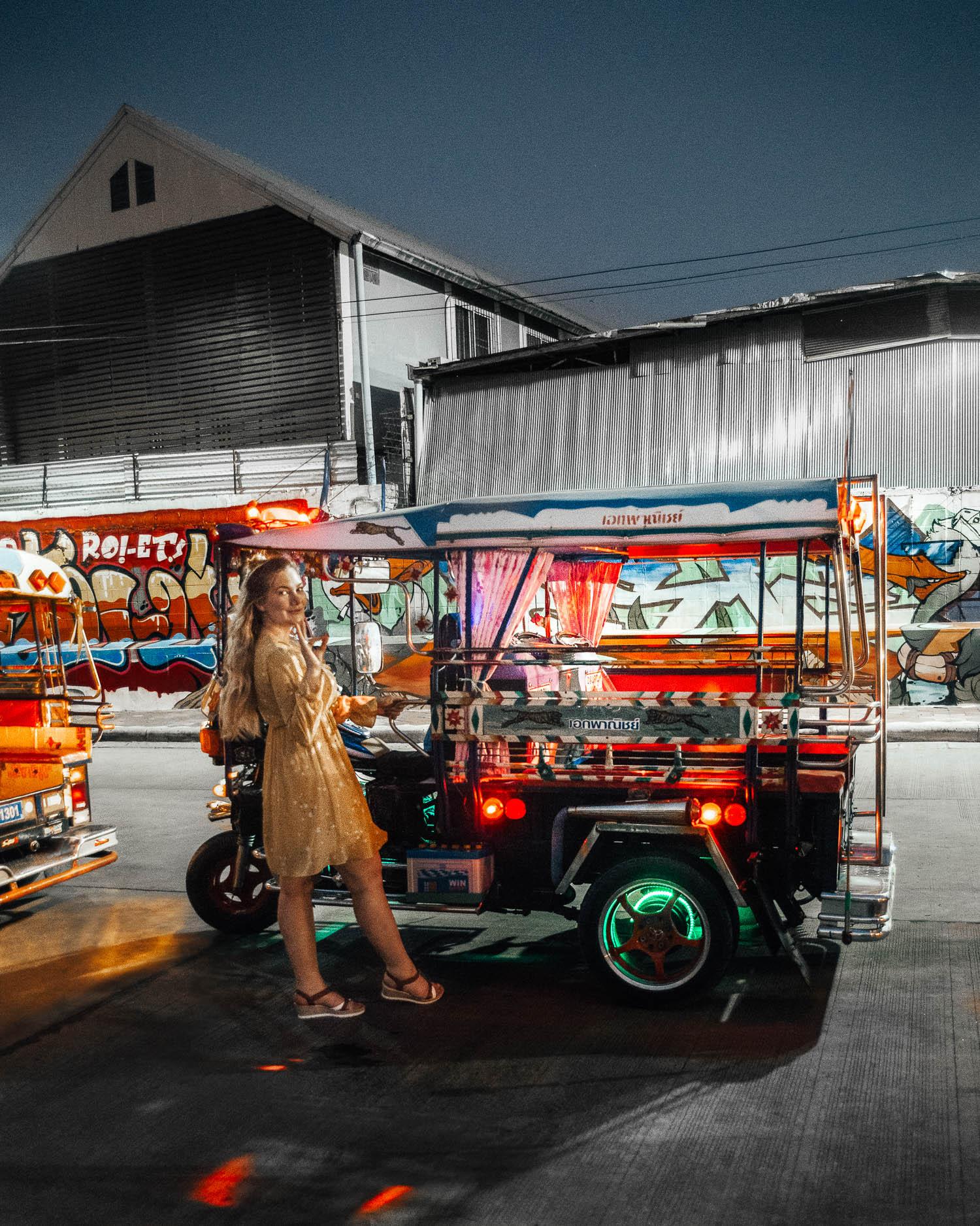 Adaras - Tuk Tuk-tour in Thailand