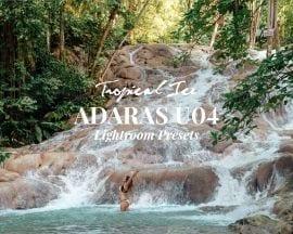 ADARAS U04 Tropical Ice Lightroom Presets
