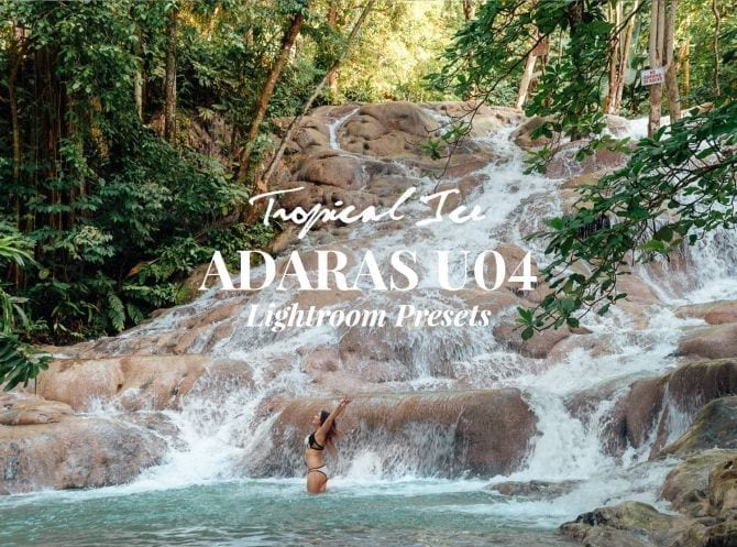 ADARAS U04 Tropical Ice Lightroom Presets