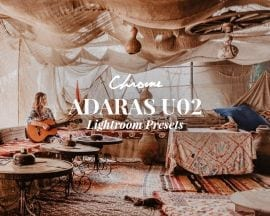 ADARAS U02 Chrome Lightroom Presets