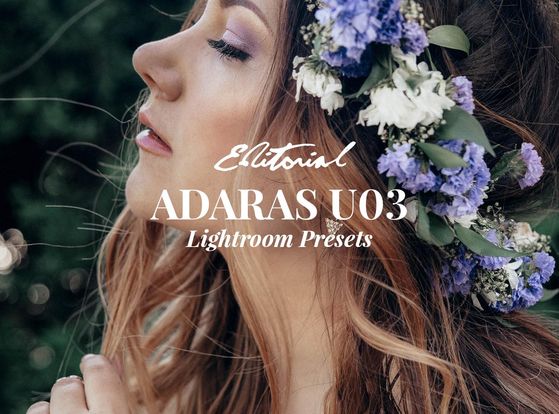 ADARAS U03 Editorial Lightroom Presets