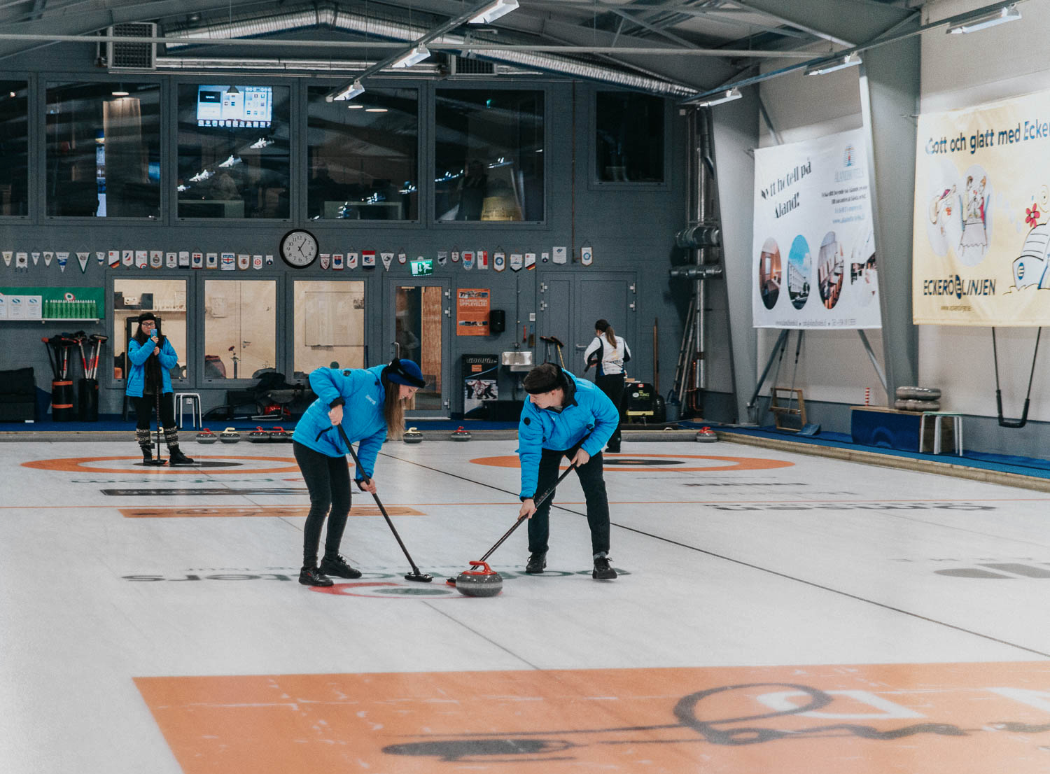 Play Curling in Eckerö | Things to do in the Åland Islands