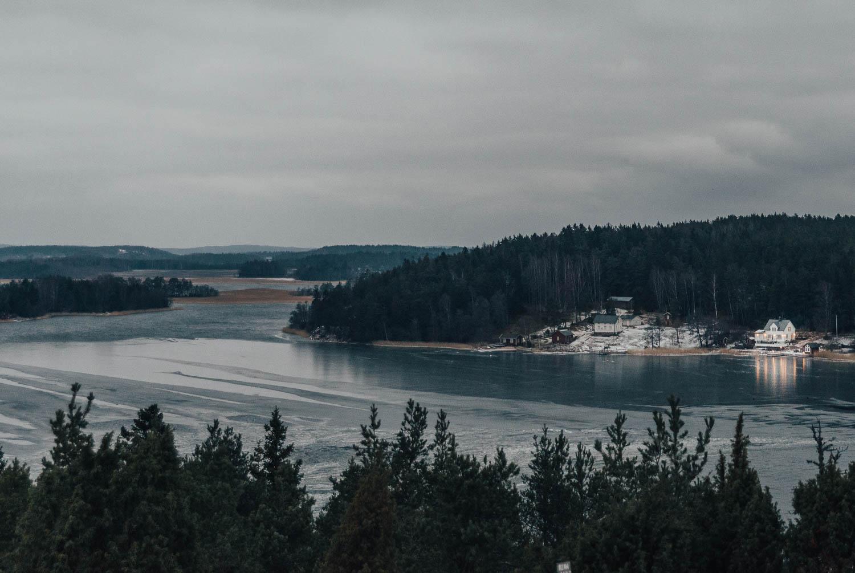 View from Café Uffe från Berget