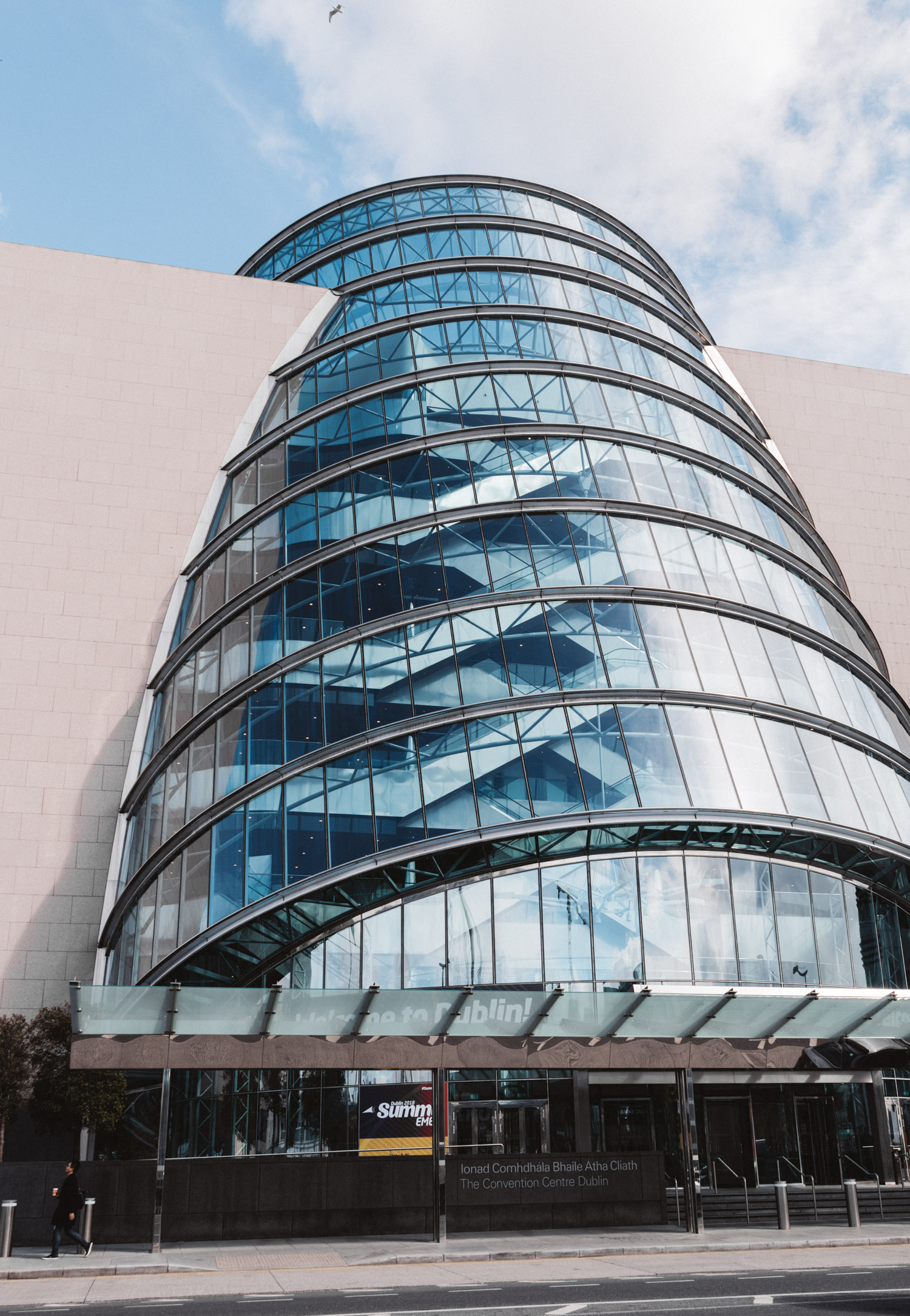 Super Cool & Modern Building: National Conference Centre in Dublin