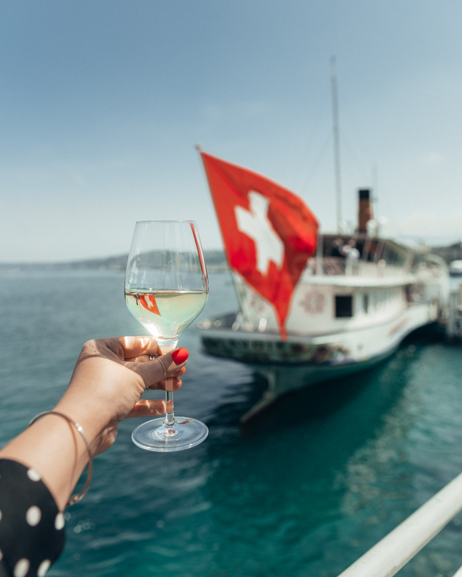 Wine in Geneva, Switzerland