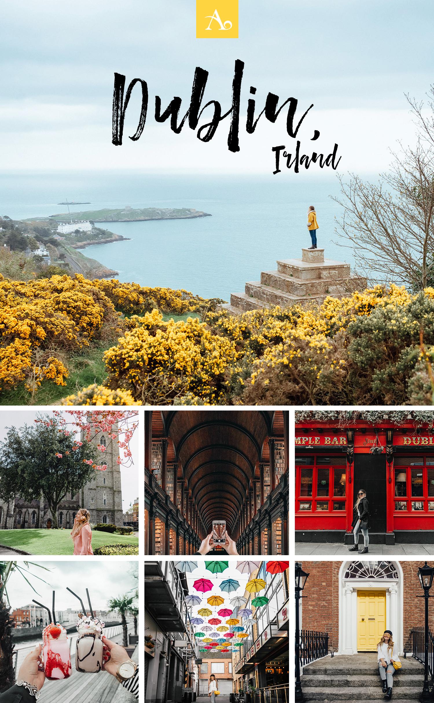 Fantastiska Instagram-platser i Dublin, Irland