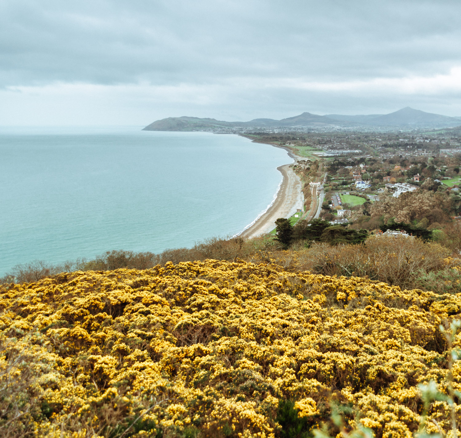 Killiney Hill, Ireland - Dublin's Beautiful Coastline