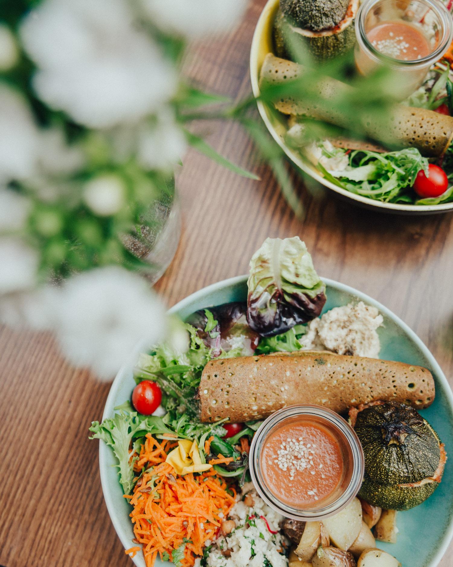 Vegetarian & Vegan Brunch at Ou Bien Encore, Geneva, Switzerland