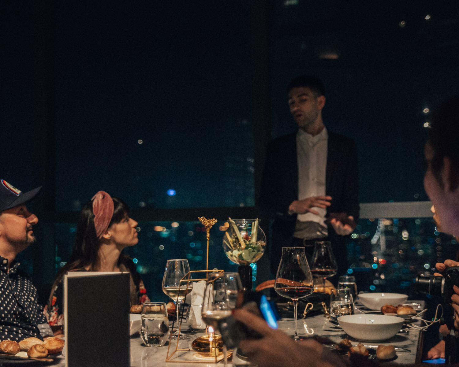 Park Society, So Sofitel, Rooftop Dining in Bangkok