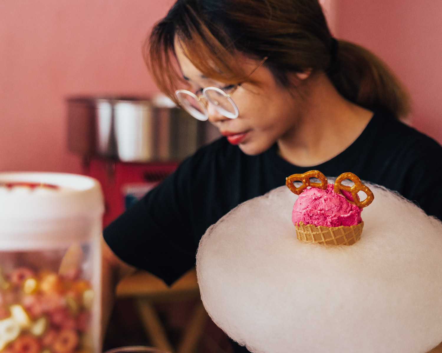 Torna Donna in the making at Pink Planter Café in Bangkok, Thailand