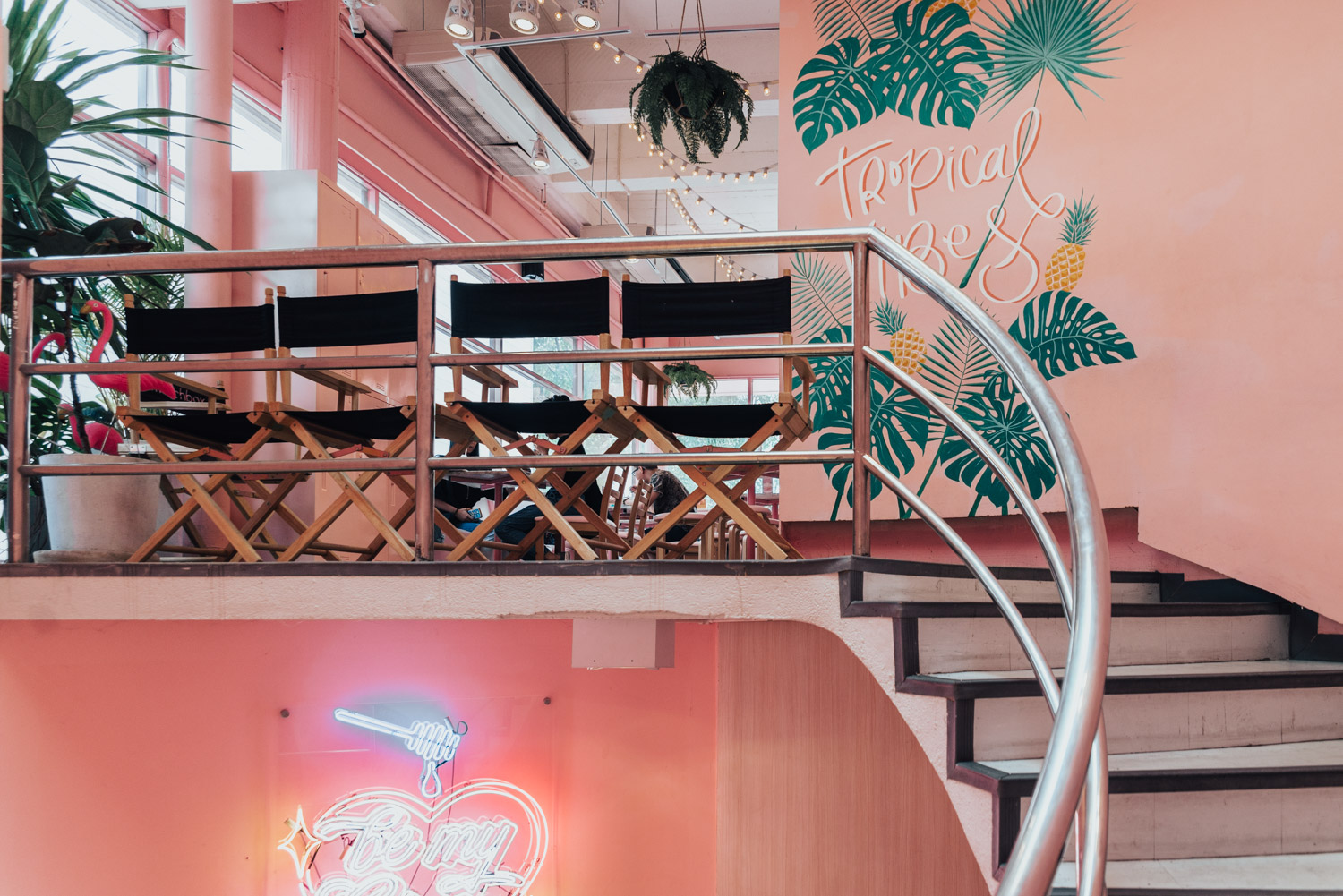 Instagram-Worthy Cafe in Bangkok, Thailand: Pink Planter Cafe