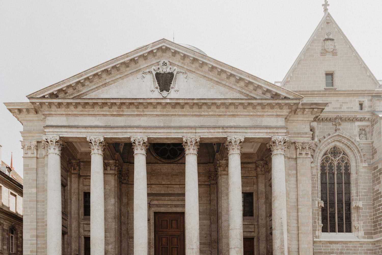Saint-Pierre Cathedral in Geneva, Switzerland