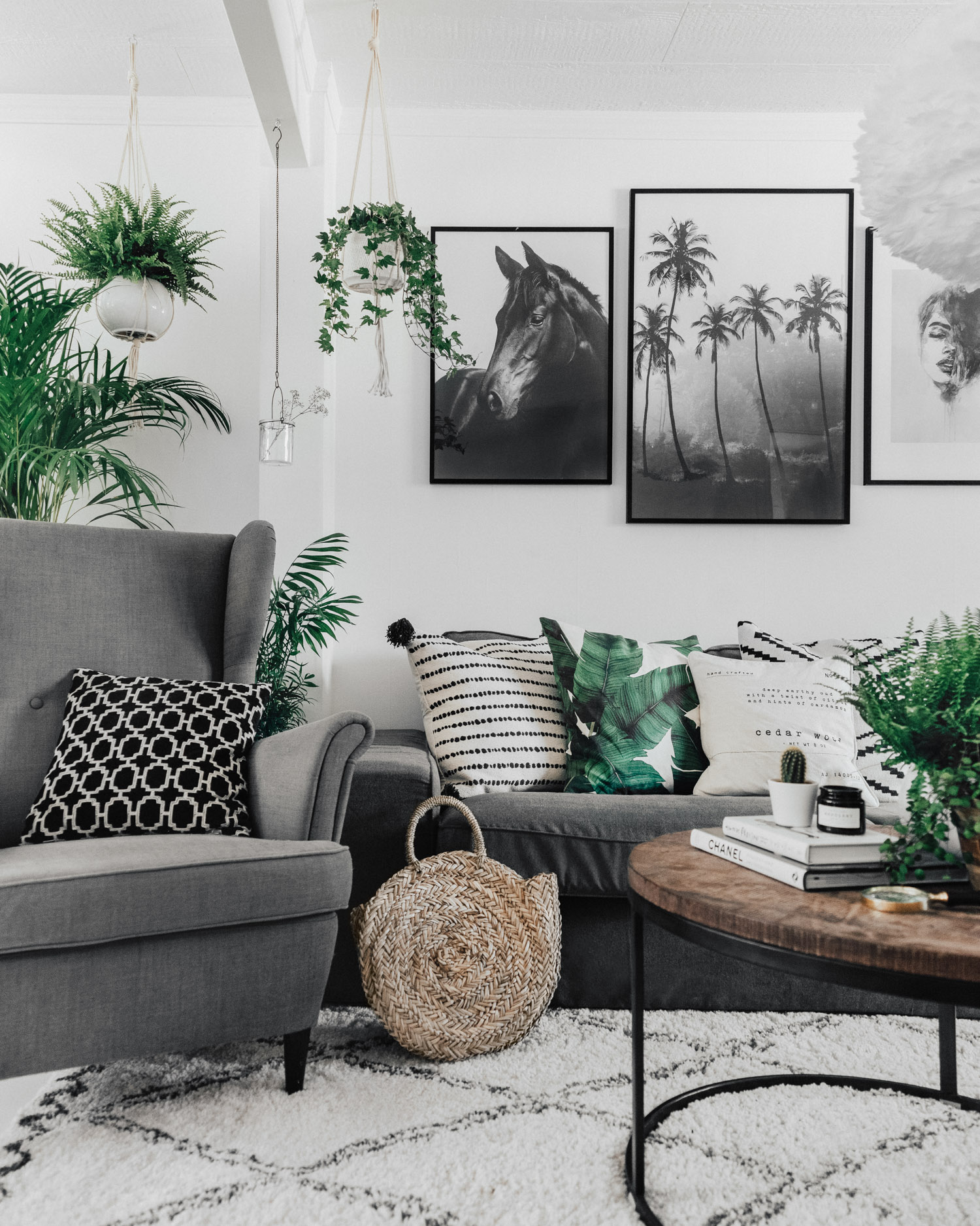 Scandinavian Livingroom Interior
