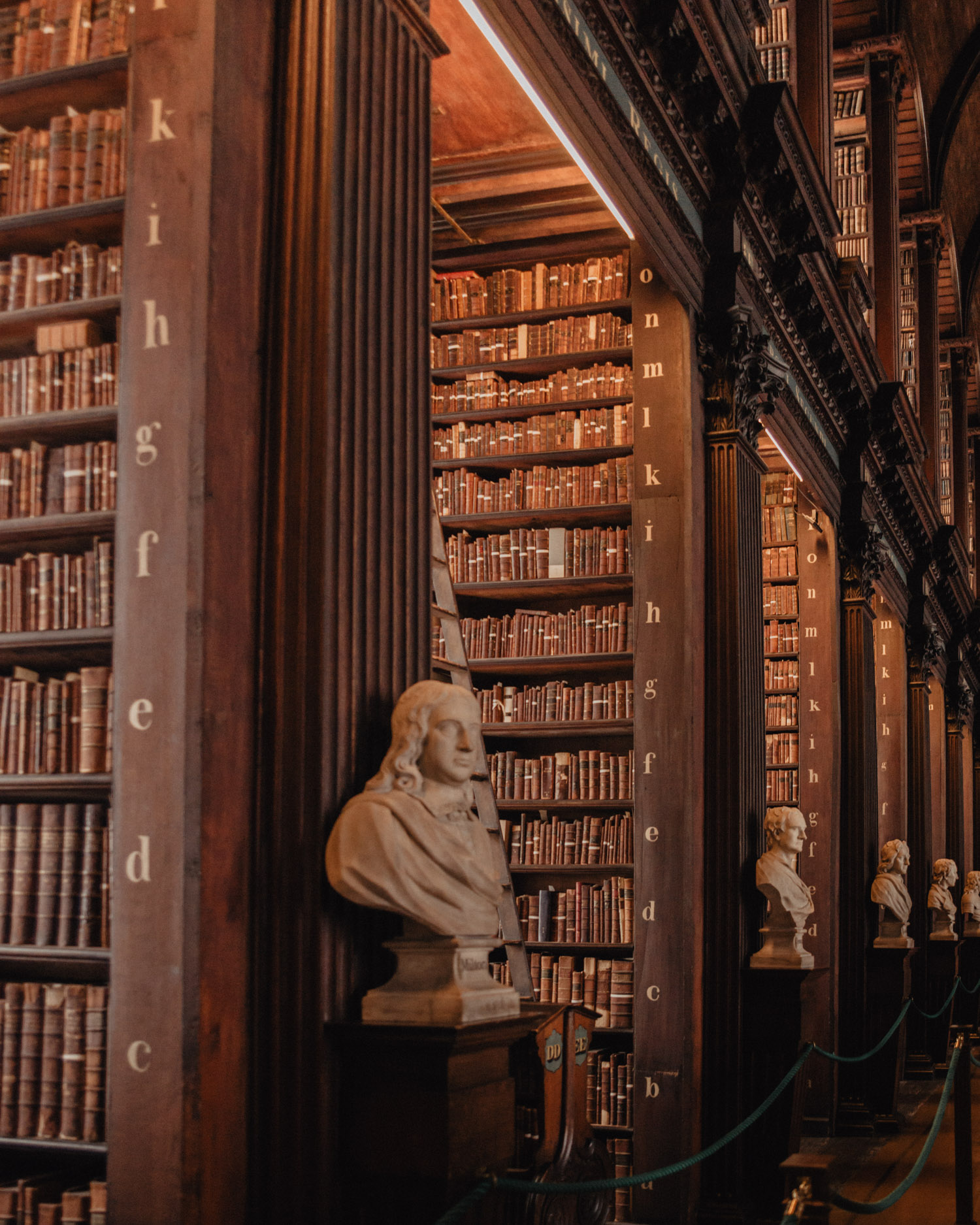 The Old Library in Trinity College
