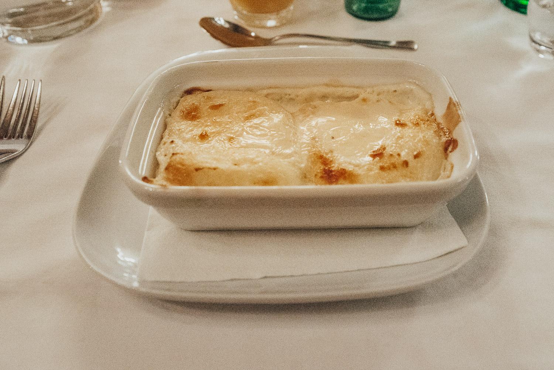 Dinner at Boban Restaurant in Zagreb