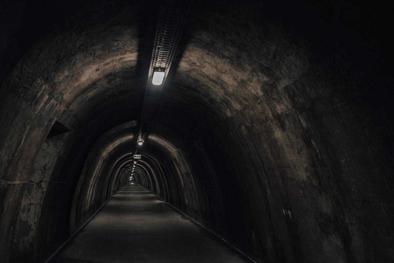 Grič Tunnel in Zagreb, Croatia