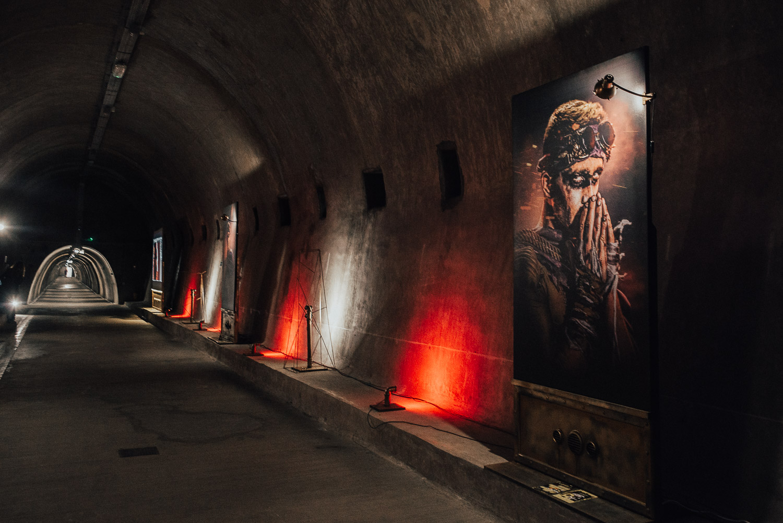 Art Installation in Grič Tunnel
