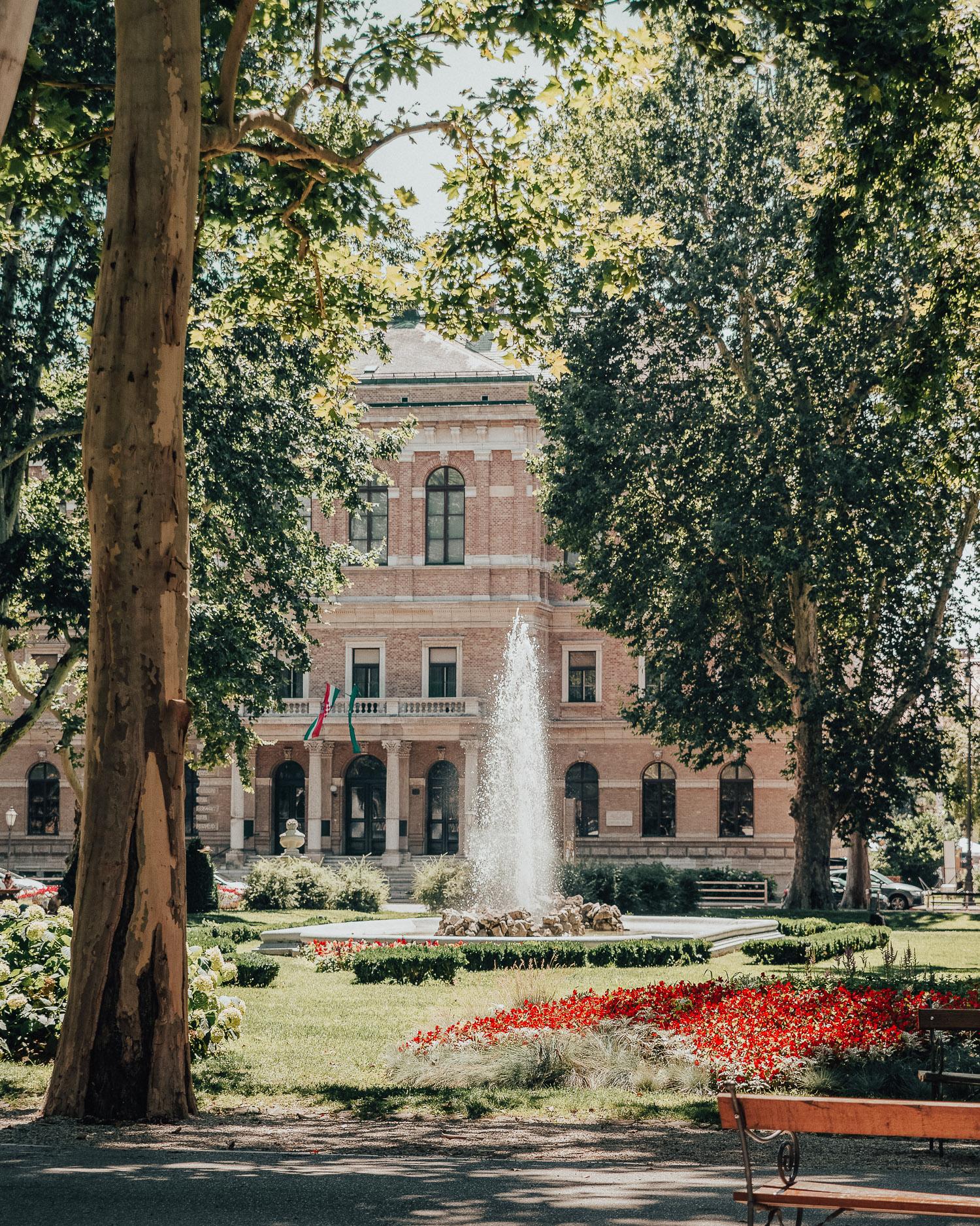 Fountain in Zrinjevac Park, Croatia