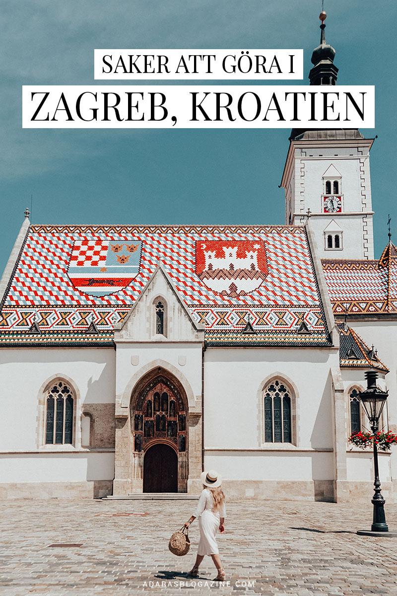 Saker att göra i Zagreb, Kroatien - ADARAS Reseguide